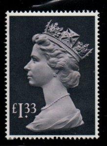 Great Britain Sc MH171 1984 £1.33 QE II Machin Head stamp mint NH