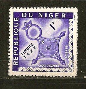 Niger J23 Postage Due MNH