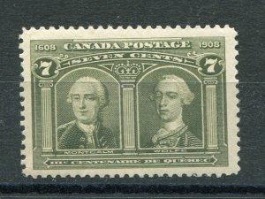 Canada #100  Mint VF    Lakeshore Philatelics
