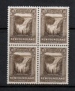 Newfoundland #182 Extra Fine Never Hinged Block