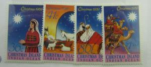 1989 Christmas Island SC #242-45 Indian Ocean MNH stamp