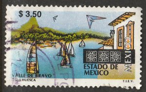MEXICO 1970, $3.50 Tourism Mexico, Valle de Bravo. USED. F-VF. (1389)