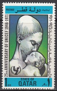 Qatar, Sc 267, MNH, 1971, Mother and Child