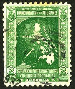 PHILIPPINES #425 USED