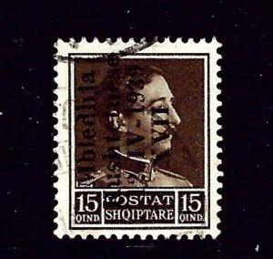 Albania 303  Used 1939 overprint   (P75)