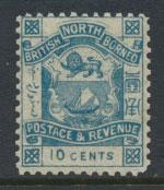 North Borneo  SG 44b dull blue   MVLH   please see scans & details
