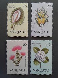 Vanuatu 515-518 VF MNH. Scott $ 5.80