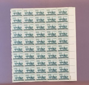 981, Minnesota Territory, Mint Sheet, CV $17.00
