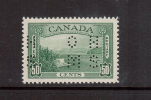 Canada #O244 Very Fine Never Hinged