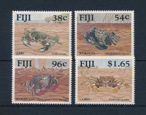 [53164] Fiji 1991 Marine life Crabs MNH