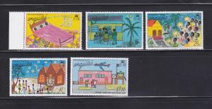 Anguilla 266-270 MNH Christmas