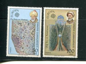 Turkey  Europa 1983 issue VF NH