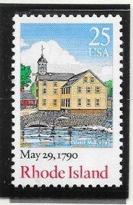 US #2348 $0.25 Rhode Island (MNH) CV$0.55