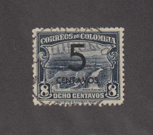 Colombia Scott #455 Used