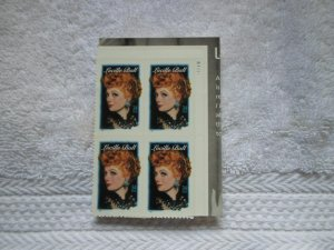 SC # 3523 34 CENTS LUCILLE BALL SELF ADGESIVE ( MNH )