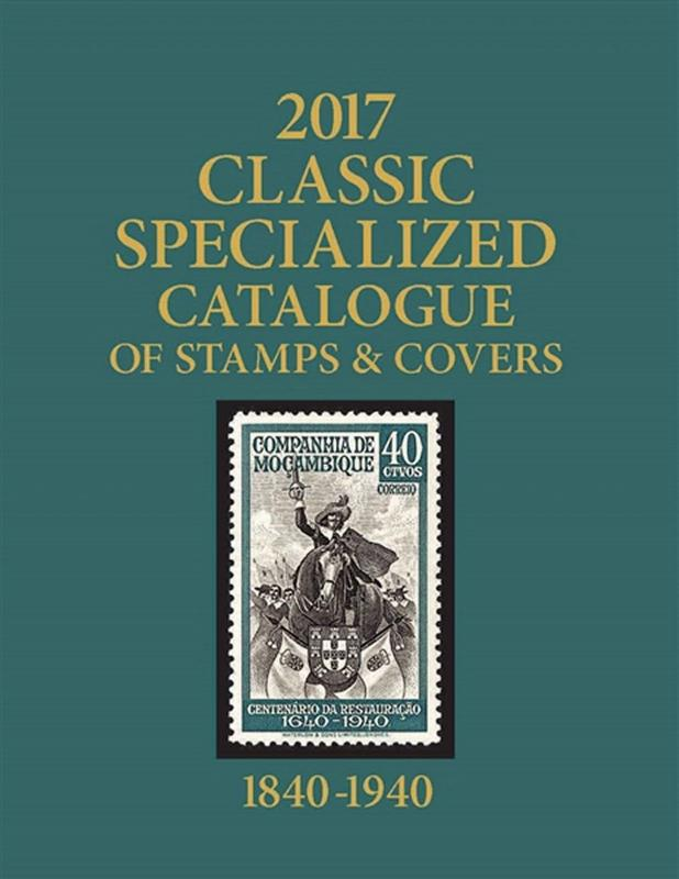 Scott 2017 Classic Stamp Catalog