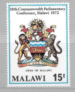 Malawi 194 Coat of Arms single MNH