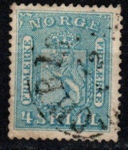 Norway #8 F-VF Used CV $14.00 (X9619)