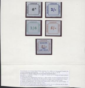 Great Britain 1962 Postal strike stamps lot, only 42240 pcs issued, MNH    S.306