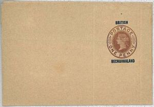 BRITISH BECHUANALAND: POSTAL STATIONERY - NEWSPAPER WRAPPER : Higgings & Gage #4