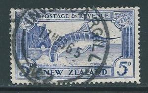New Zealand 192 Marlin single used