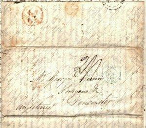 FRANCE Cover Paris GB Doncaster SURGEON MEDICAL Contents EL Letter 1843 EP83