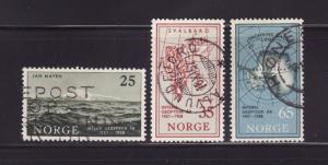 Norway 355-357 Set U International Geophysical Year (A)