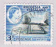 Rhodesia & Nyasaland 162 Used Rhodes grave 1954 (BP3145)