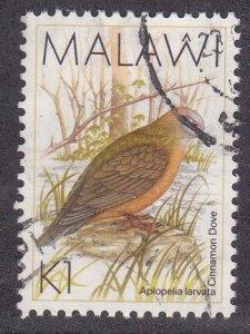 Malawi # 530, Cinamon Dove, Used