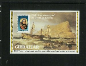 Wholesale Topical Lot. Gibraltar Horatio Nelson SS. Cat.25.00 (1.00 x 25)