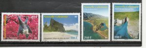 New Caledonia 1164-1167 MNH