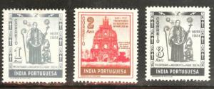 Portuguese India Scott 507-509 MNH** 1951 short set