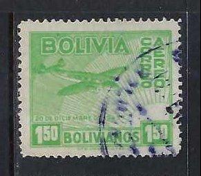 BOLIVIA C98 VFU AIRPLANE R673-5