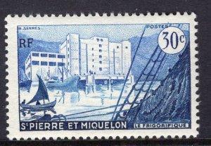 St. Pierre & Miquelon (1955-56) #346 MH