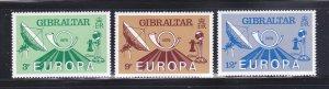 Gibraltar 382-385 Set MNH Europa (A)