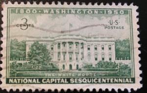 990 Capital Ses. White House Circulated Single, Vic's Stamp Stash