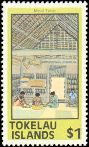 Tokelau #49a-56a, Complete Set(7), 1981, Never Hinged