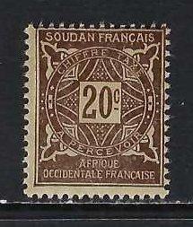 FRENCH SUDAN J14 MOG H237-2
