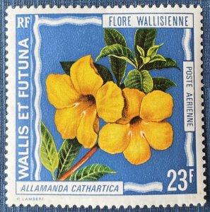 Wallis and Futuna Islands C51 MH Flower (SCV $4.50)