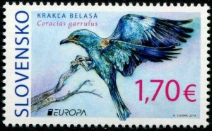 HERRICKSTAMP NEW ISSUES SLOVAKIA EUROPA 2019 Birds