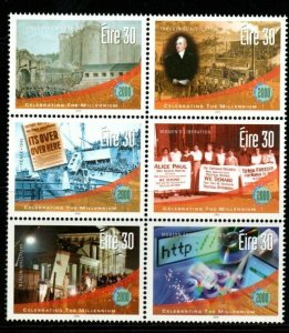 IRELAND SG1377/82 2000 NEW MILLENNIUM (5TH ISSUE) MNH