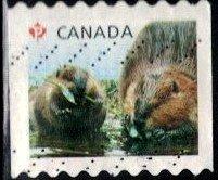 Juvenile Wildlife, Beaver Kits, Canada SC#2711 used