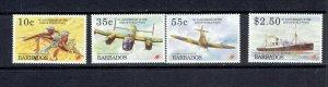 BARBADOS - 1995 - END OF WORLD WAR II - SCOTT 891 TO 894 - MNH