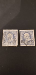 US #219 Used Lot of 2