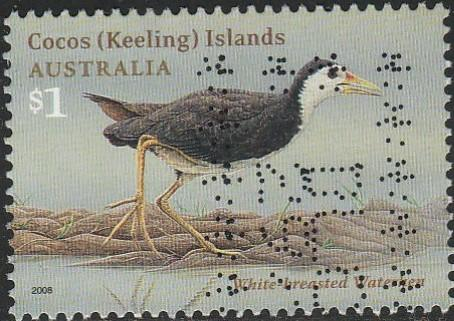 Cocos Islands, #349 Used From 2008