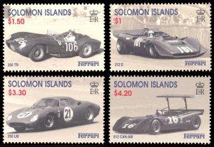 Solomon Islands 1999 Scott #885-888 Mint Never Hinged