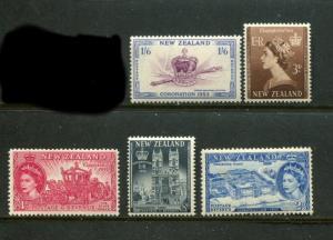 New Zealand #280-4 Mint