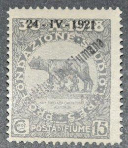 DYNAMITE Stamps: Fiume Scott #163 – MINT