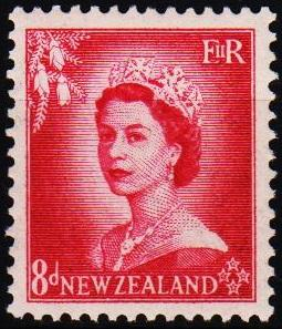 New Zealand. 1953 8d S.G.730 Mounted Mint
