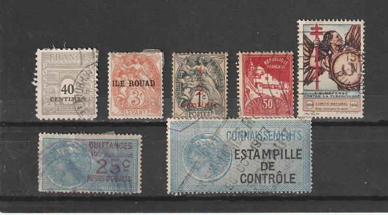 France & Colonies Used lot